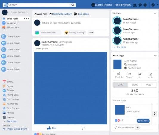 cara menghapus halaman di facebook dengan facebook lite