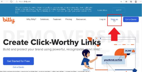 langkah membuat bit.ly