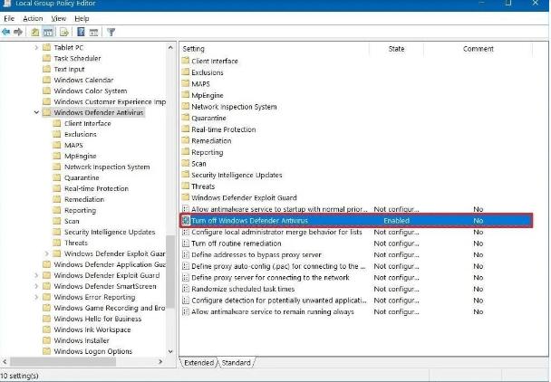 gpedit-disable-windows-defender-antivirus