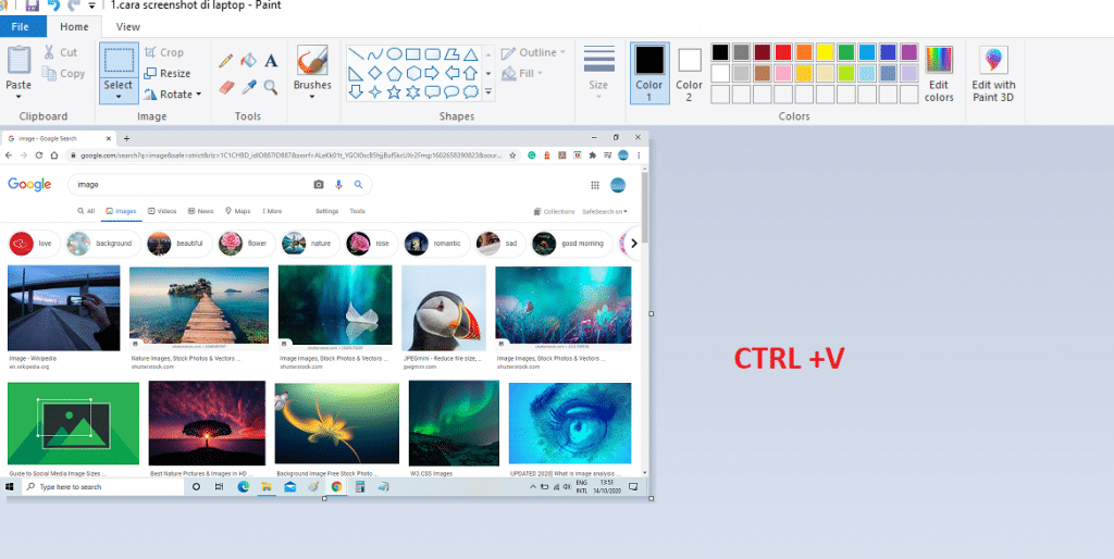 tutorial print screen 2