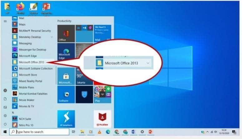 excel cek desktop 3