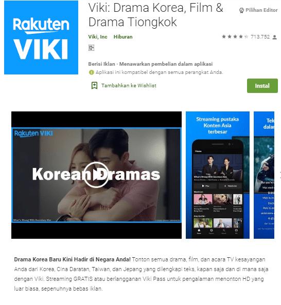 Viki: Drama Korea