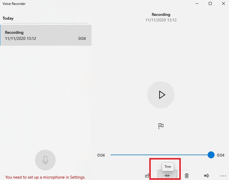 aplikasi perekam suara di laptop Windows 10