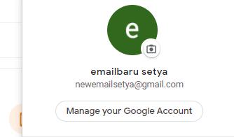 bagaimana cara mengganti password gmail