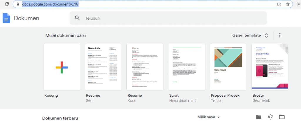 Cara Translate PDF Dengan Google Document