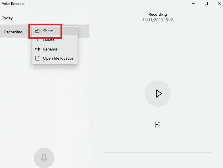 aplikasi perekam suara di Windows 10
