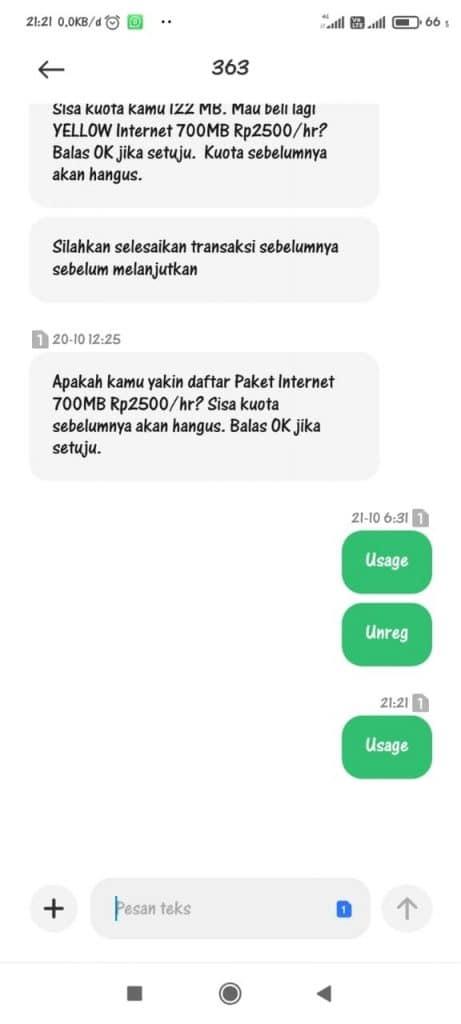 paket data internet Indosat Ooredoo