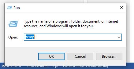 file sampah di laptop