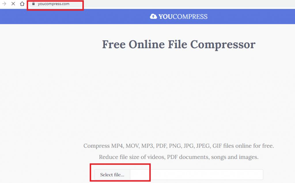 cara kompres video dari PC