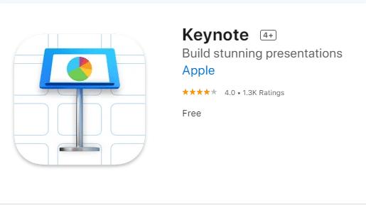 aplikasi presentasi keynote