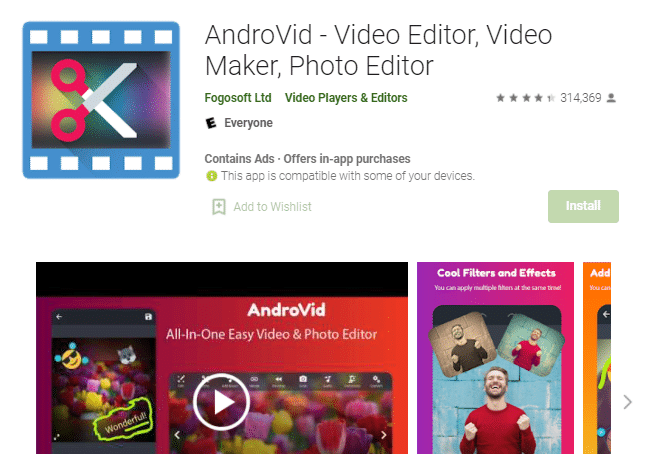 penggabung video android