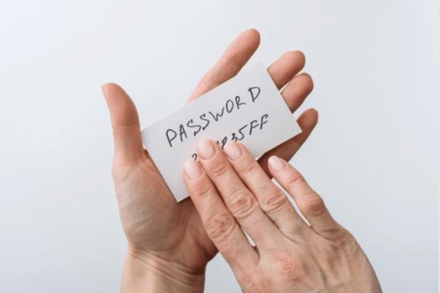mengubah password google