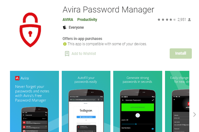 password manager android terbaik
