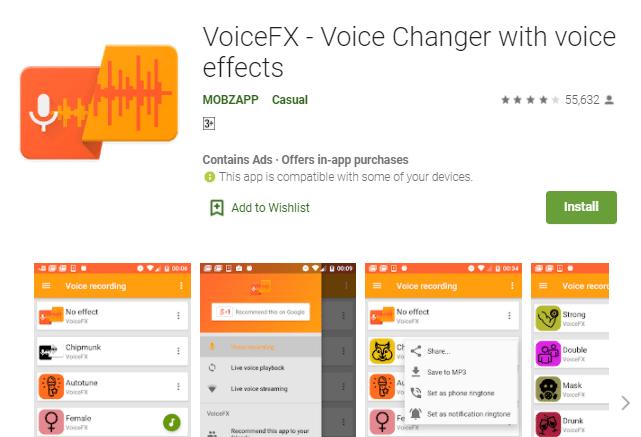 aplikasi Voice FX