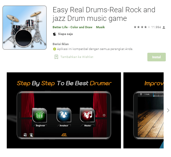Easy Real Drums