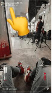 Cara Mencari Filter di Instagram Lewat IG Story Teman