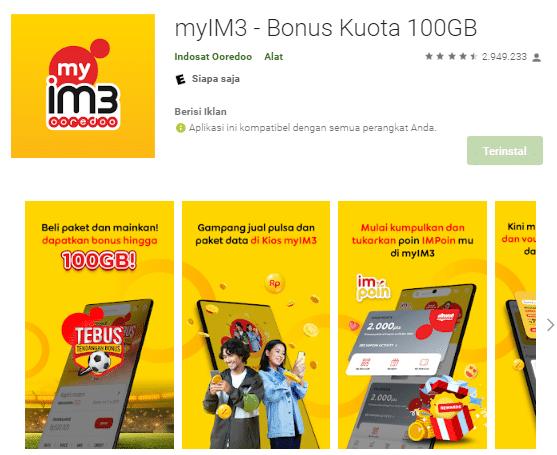 Cara Mengecek No M3 Dengan Menggunakan Aplikasi MyIM3