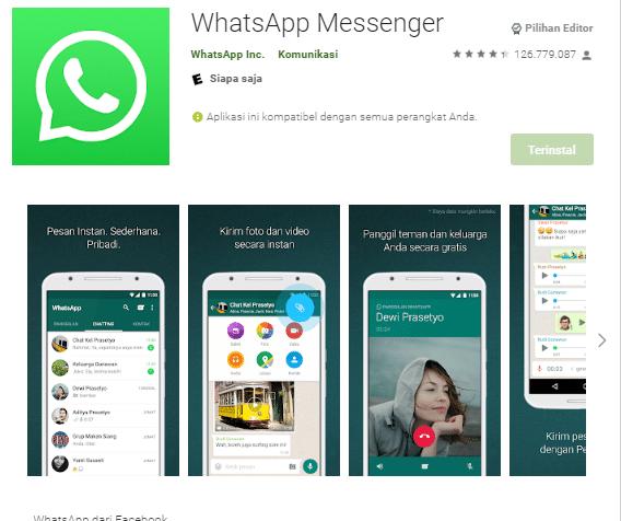Cara Mengganti Nomor WA Pada Android
