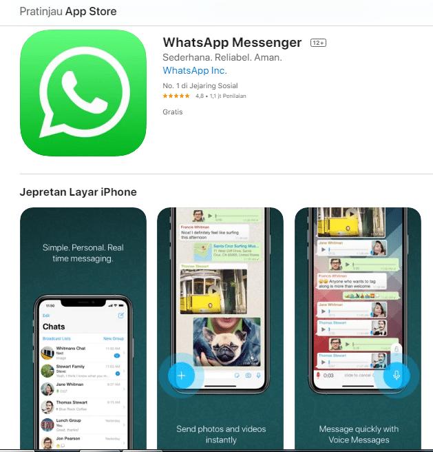 Cara Mengganti Nomor Whatsapp di iOS