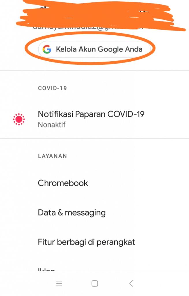bagaimana menghapus riwayat pencarian di google hp android