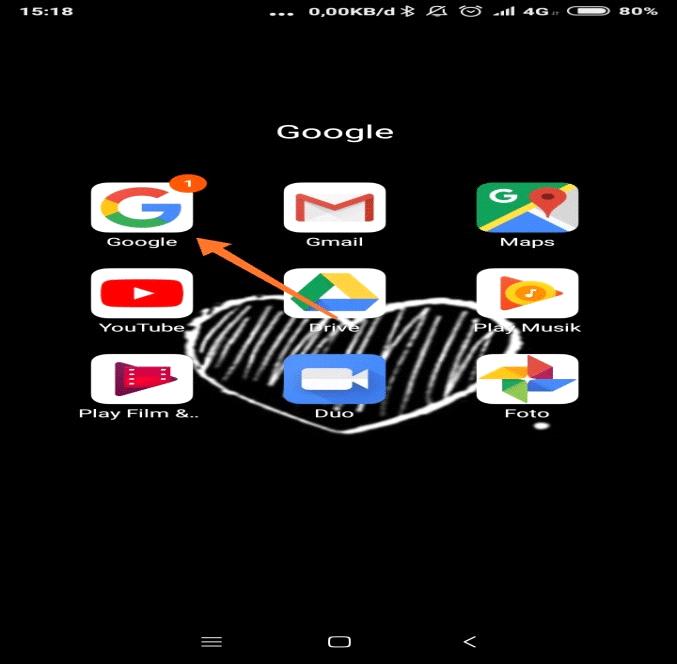 cara delete riwayat pencarian google