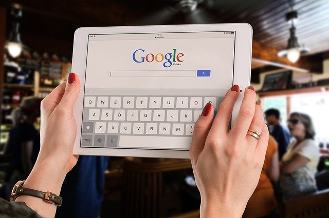 hapus history pencarian google