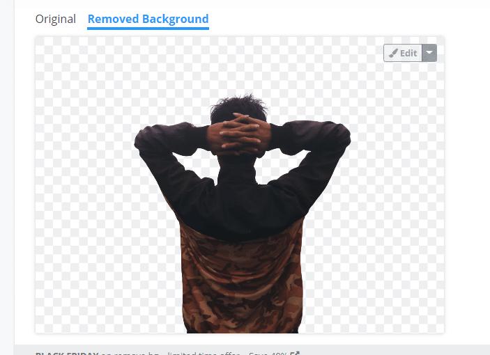 mengganti background foto online