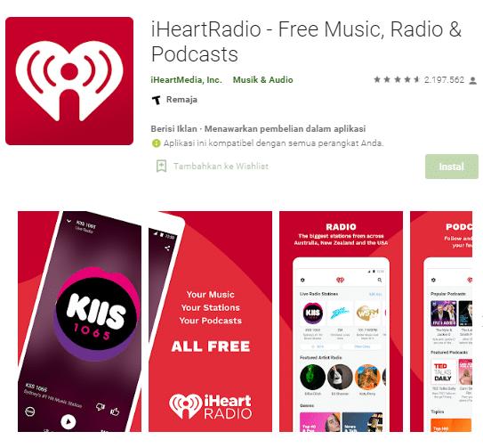 aplikasi pemutar musik online untuk android
