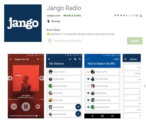 Jango RadioRadio