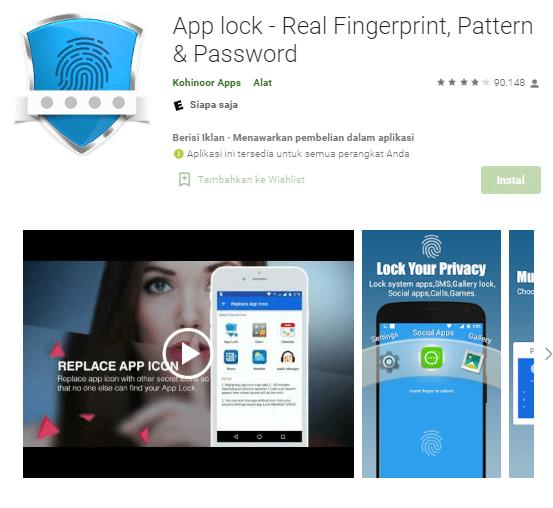 aplikasi sidik jari terbaik