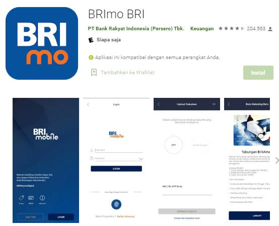 Cara Daftar BRI Mobile Lewat Hp Android