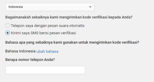 verifikasi youtube