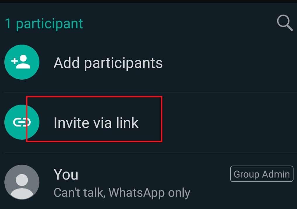 Masuk ke Link Mengundang melalui Tautan