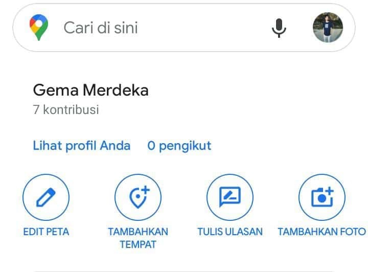 cara membuat lokasi di google map dengan android