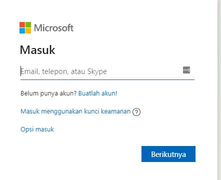Cara Buat Akun Microsoft dengan Mudah
