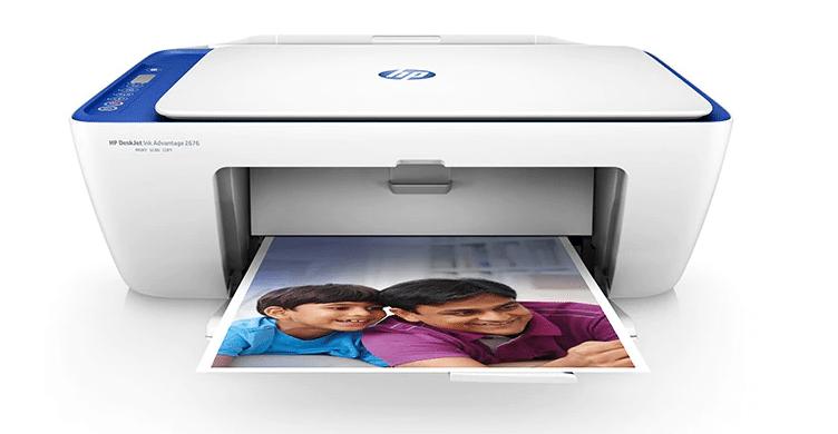 cara scan di printer hp