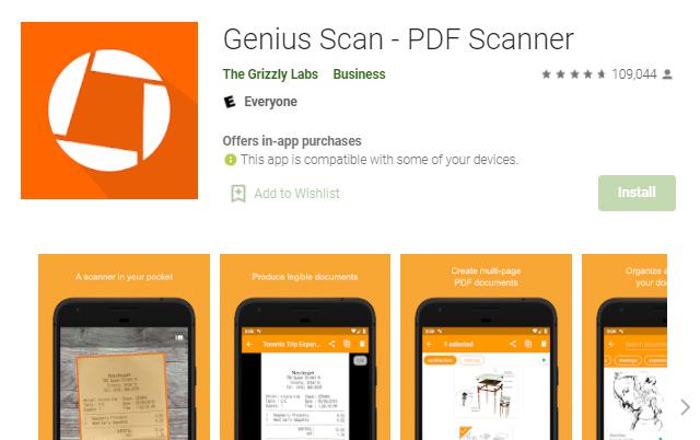 Genius Scan