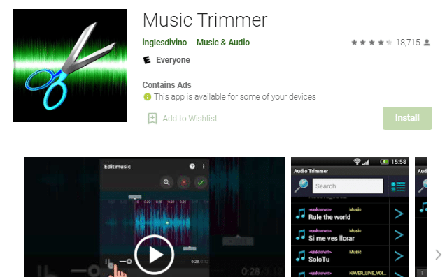 Music Trimmer