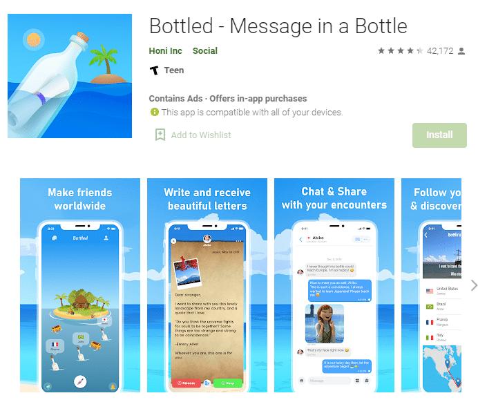 aplikasi bottled