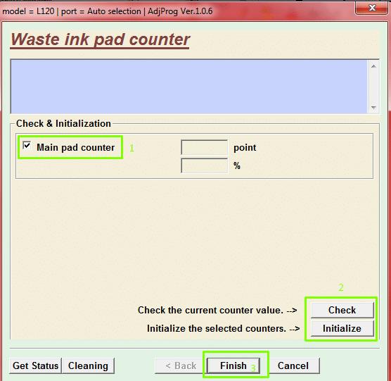 bagaimana cara reset printer epson l120