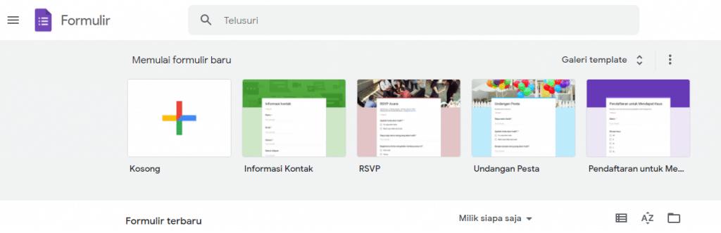 bagaimana melihat hasil google form