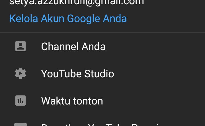 manfaat verifikasi akun youtube