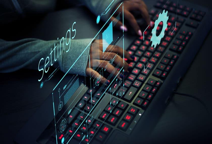 setting desktop komputer