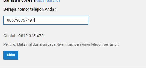verifikasi akun youtube menggunakan aplikasi