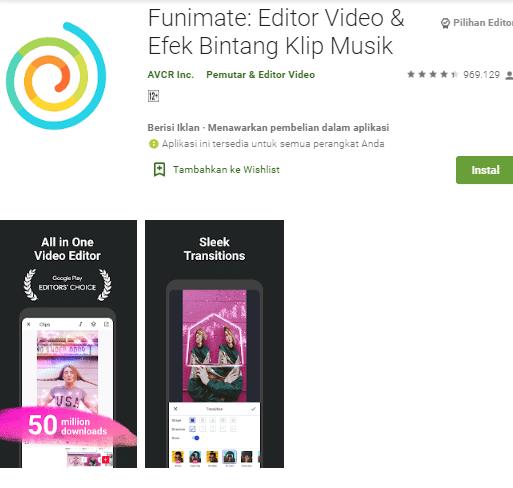 aplikasi edit foto menjadi video di hp