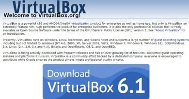cara menginstal virtual box