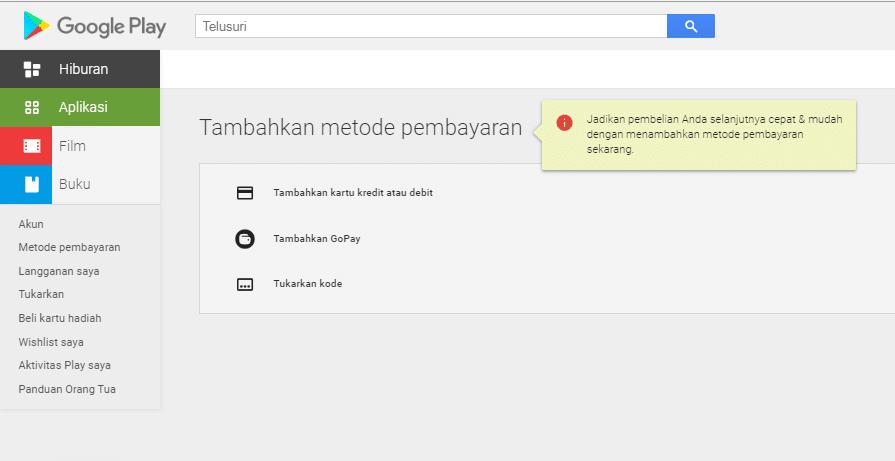 Cara Mengubah Pembayaran Menggunakan Pulsa di Google Play