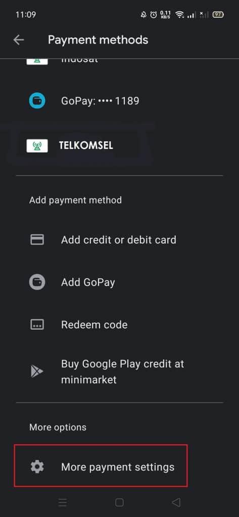 Cara Mengganti Metode Pembayaran di Google Play Store