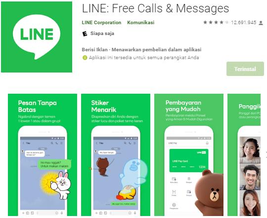 Cara Membuat Link Line untuk sosmed