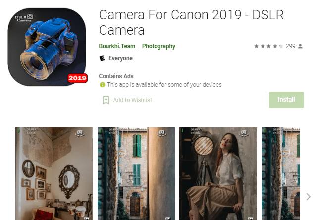 Camera For Canon 2019